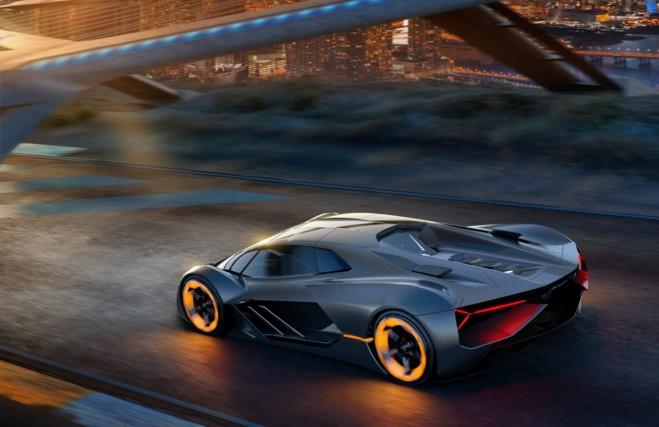 Terzo Millennio : une Lamborghini électrique