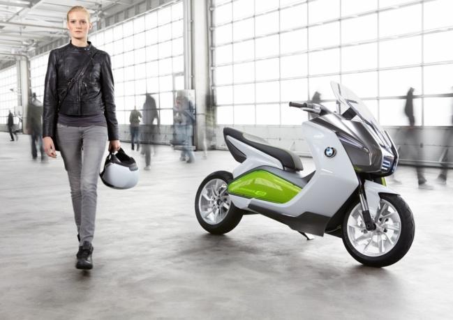 C Evolution : le scooter électrique par BMW