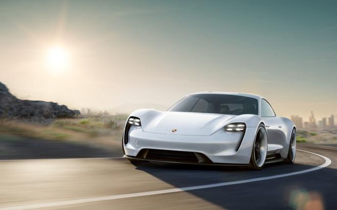 """Porsche """"Mission E"""""""