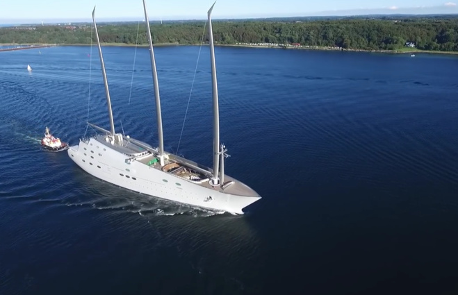 Super Sail A : le plus grand yacht à voile du monde ?