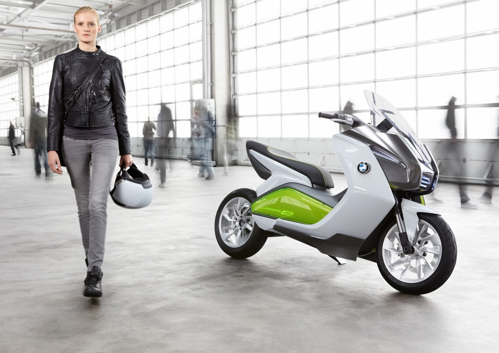 c evolution le scooter lectrique par bmw. Black Bedroom Furniture Sets. Home Design Ideas
