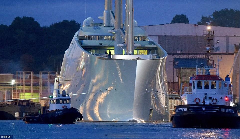 Super Sail A : le plus grand yacht à voile du monde ?