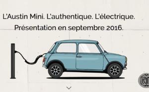 L'Austin Mini revient en version électrique