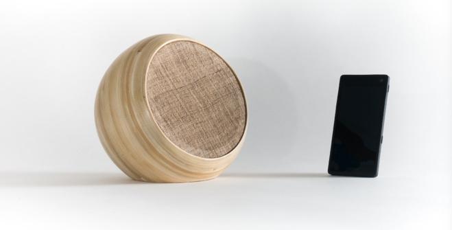 Hazang, des enceintes qui conjuguent bluetooth et bamboo