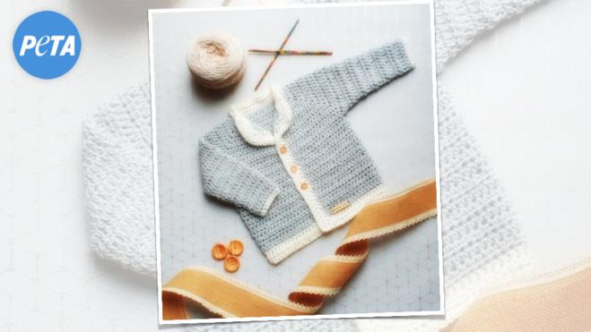 De la laine vegane pour le Royal Baby