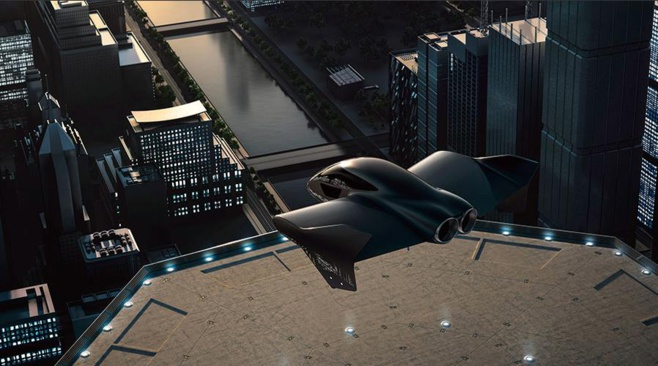 Porsche et Boeing s'associent pour construire un drone électrique et autonome