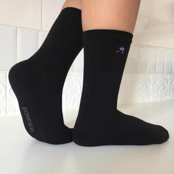 Bonpied, une marque de chaussettes bienveillantes et maintenant écologiques !