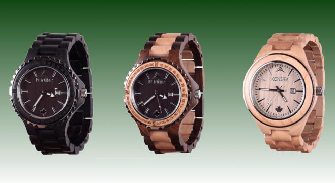 Konifer Watch : des montres de luxe écologiques et responsables