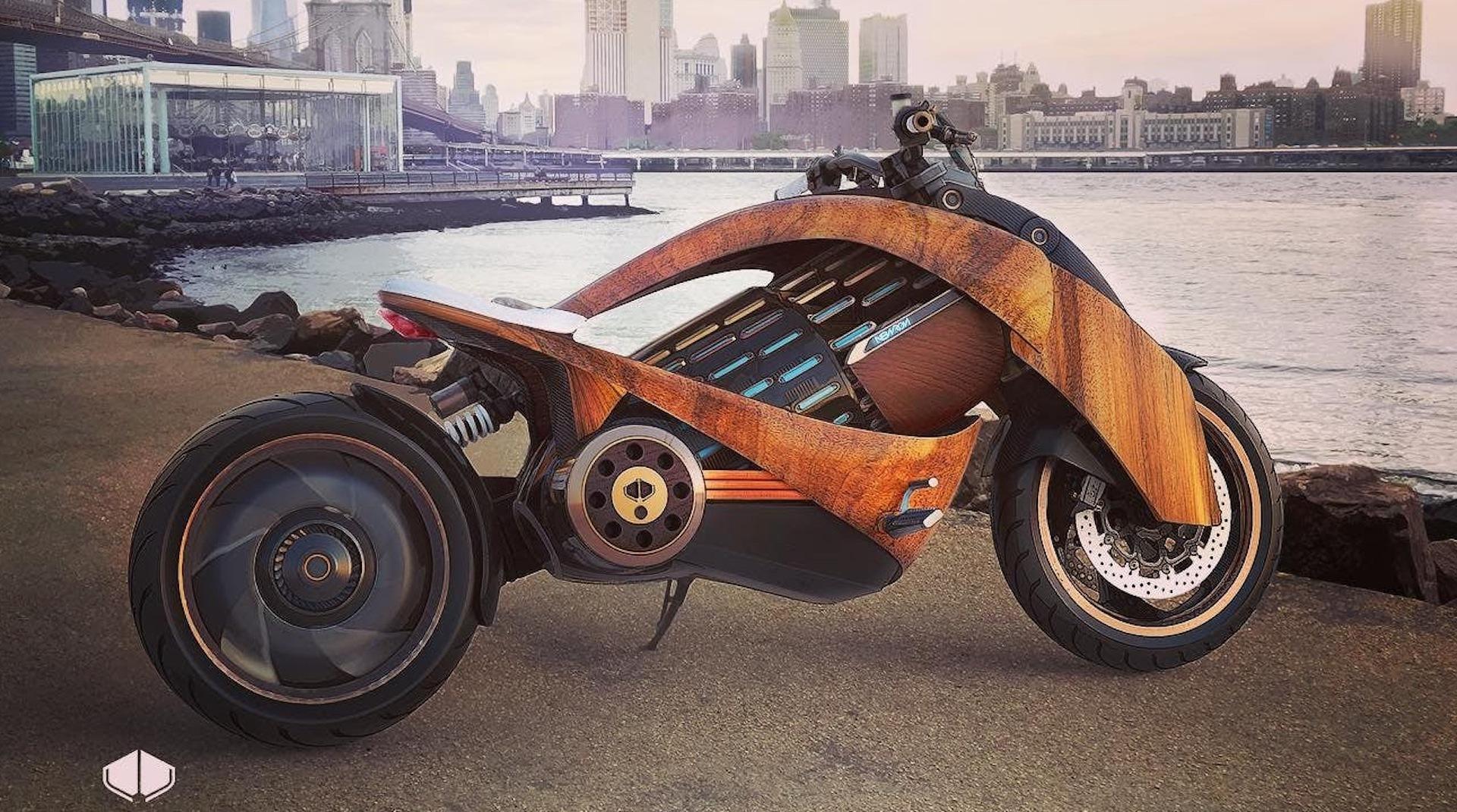 Le français Newron dévoile sa moto électrique