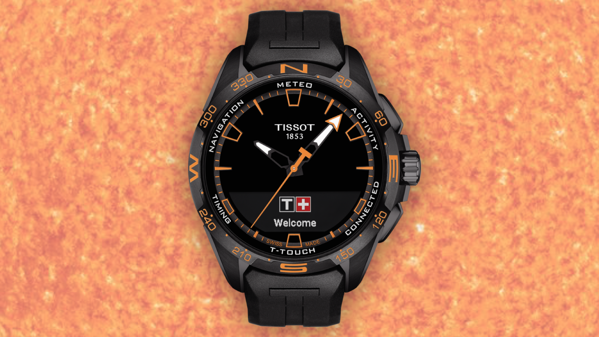 Tissot connecte sa T-Touch avec le Soleil