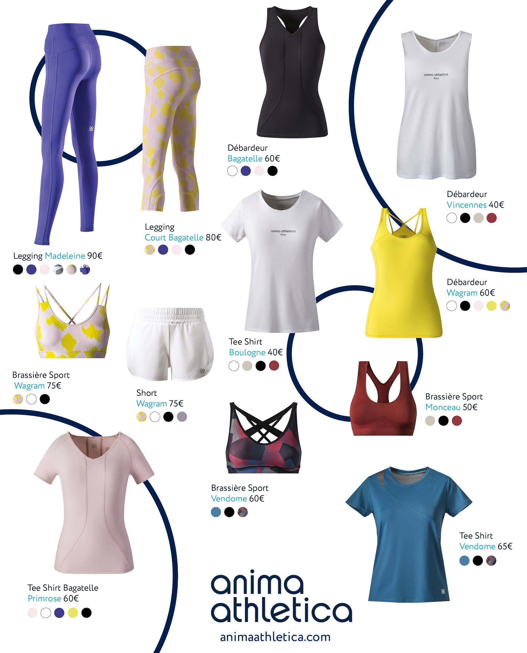 Anima Athlética, la marque de sport pour les femmes