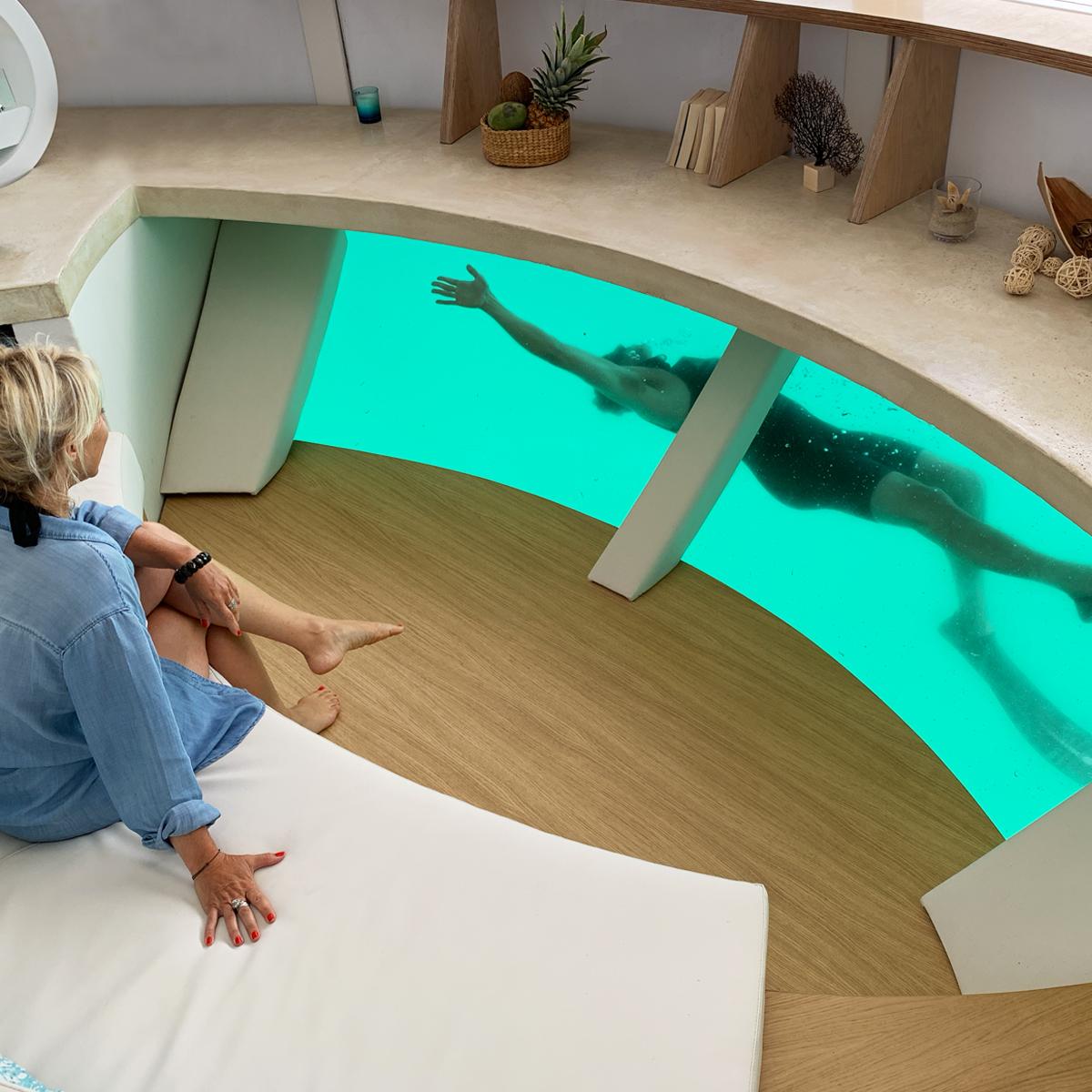 Anthénea : une maison flottante écologique au design unique