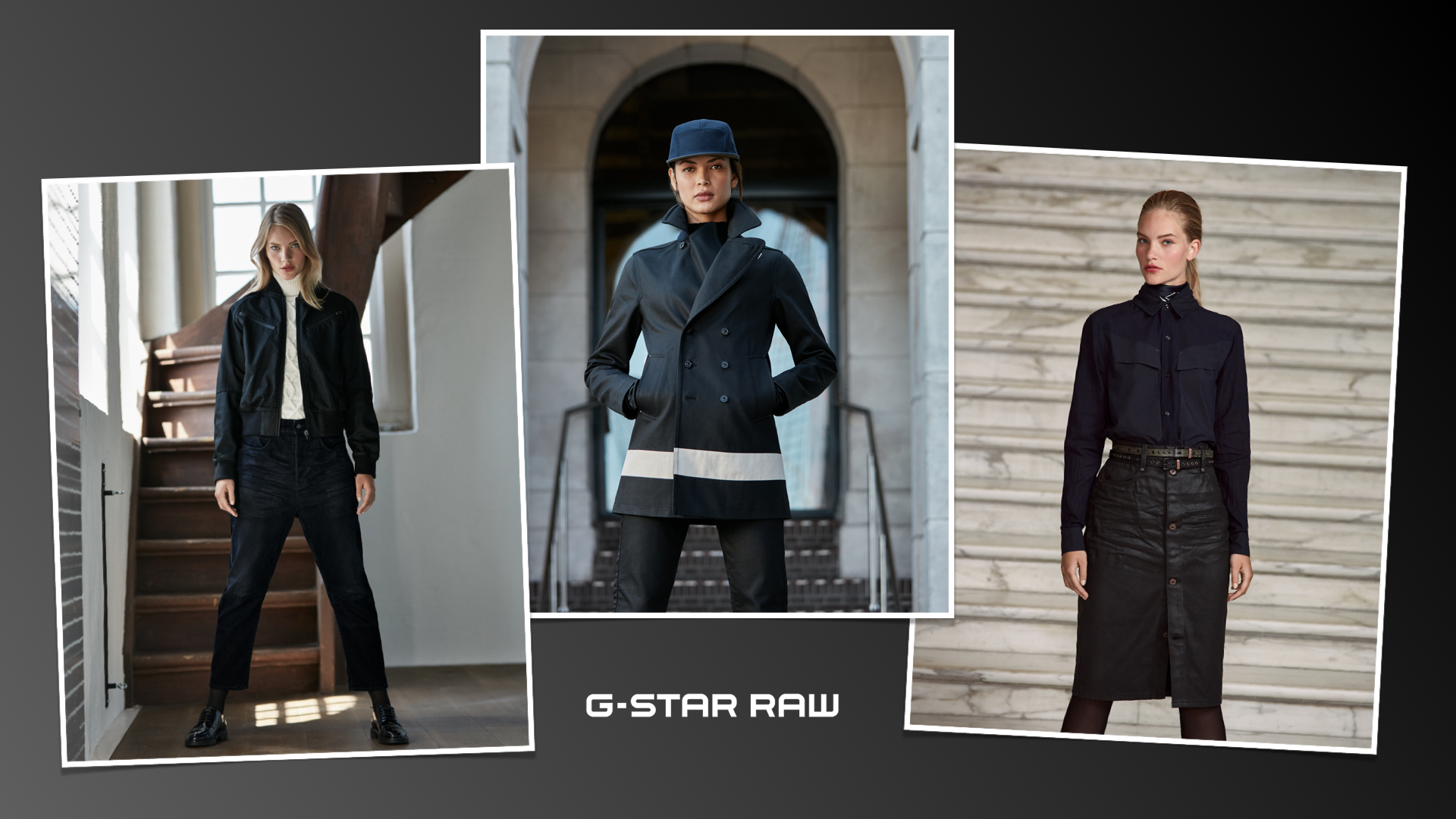 G-Star Raw : quand le black denim se met au vert