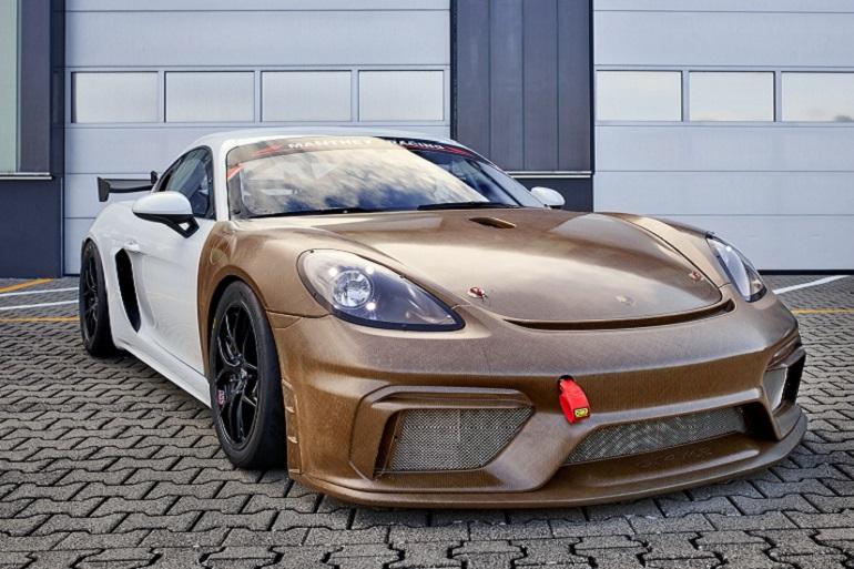 Porsche habille ses voitures de fibre de lin