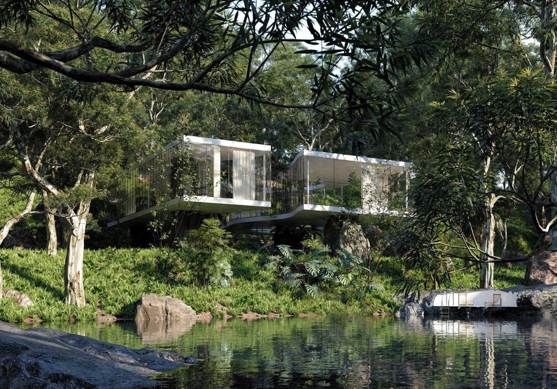 Casa Atibaia, une maison en plein coeur de la jungle