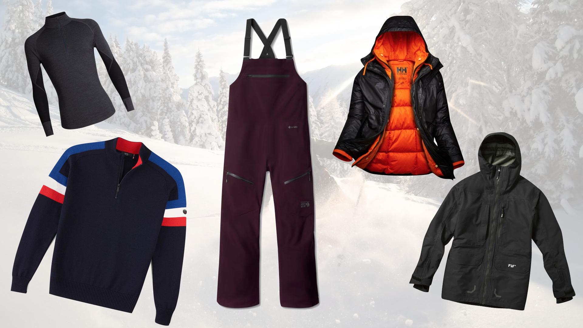 5 tenues de ski écolo
