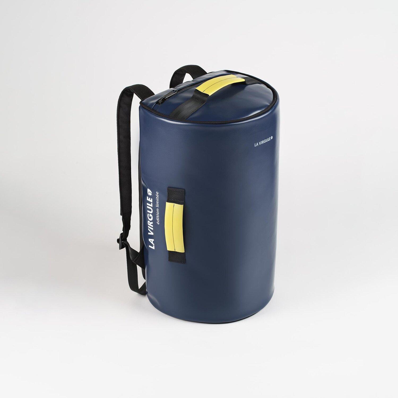 La Virgule et l'upcycling : des sac à dos responsables