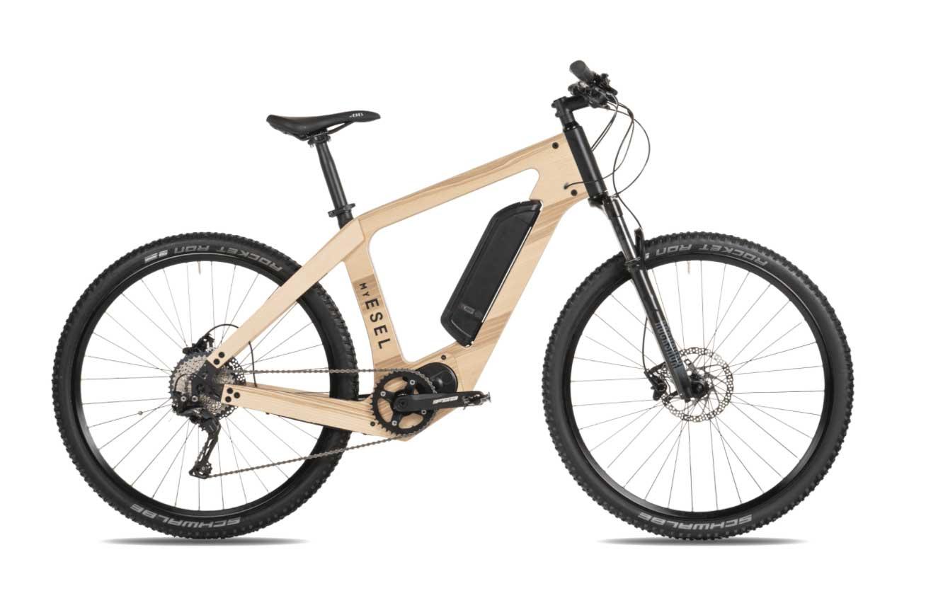 Roulez encore plus écologiquement avec un vélo électrique en bois My Esel !