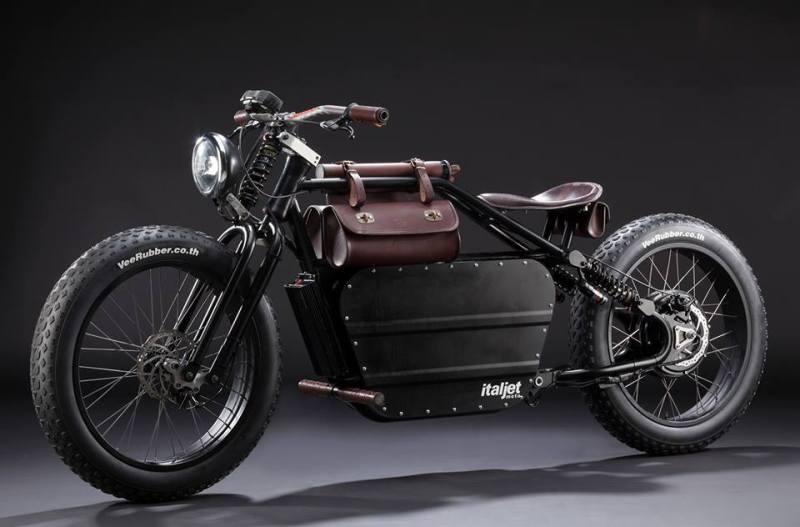 Mantra : un vélomoteur électrique vintage signé ItalJet