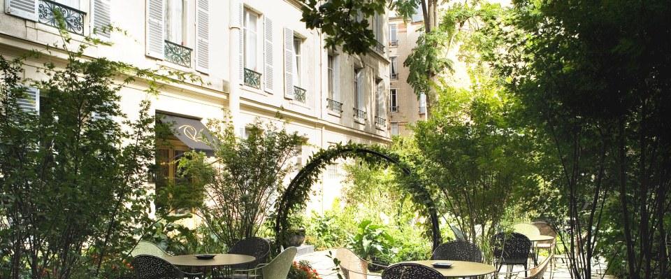 Le Regent's Garden, premier hôtel parisien récompensé de l'éco-label européen, peut être réservé via Bookdifferent