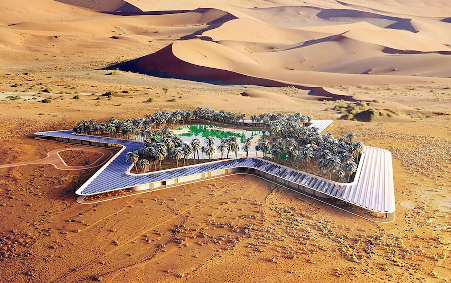 Oasis Eco Resort : un complexe hôtelier de luxe éco-responsable