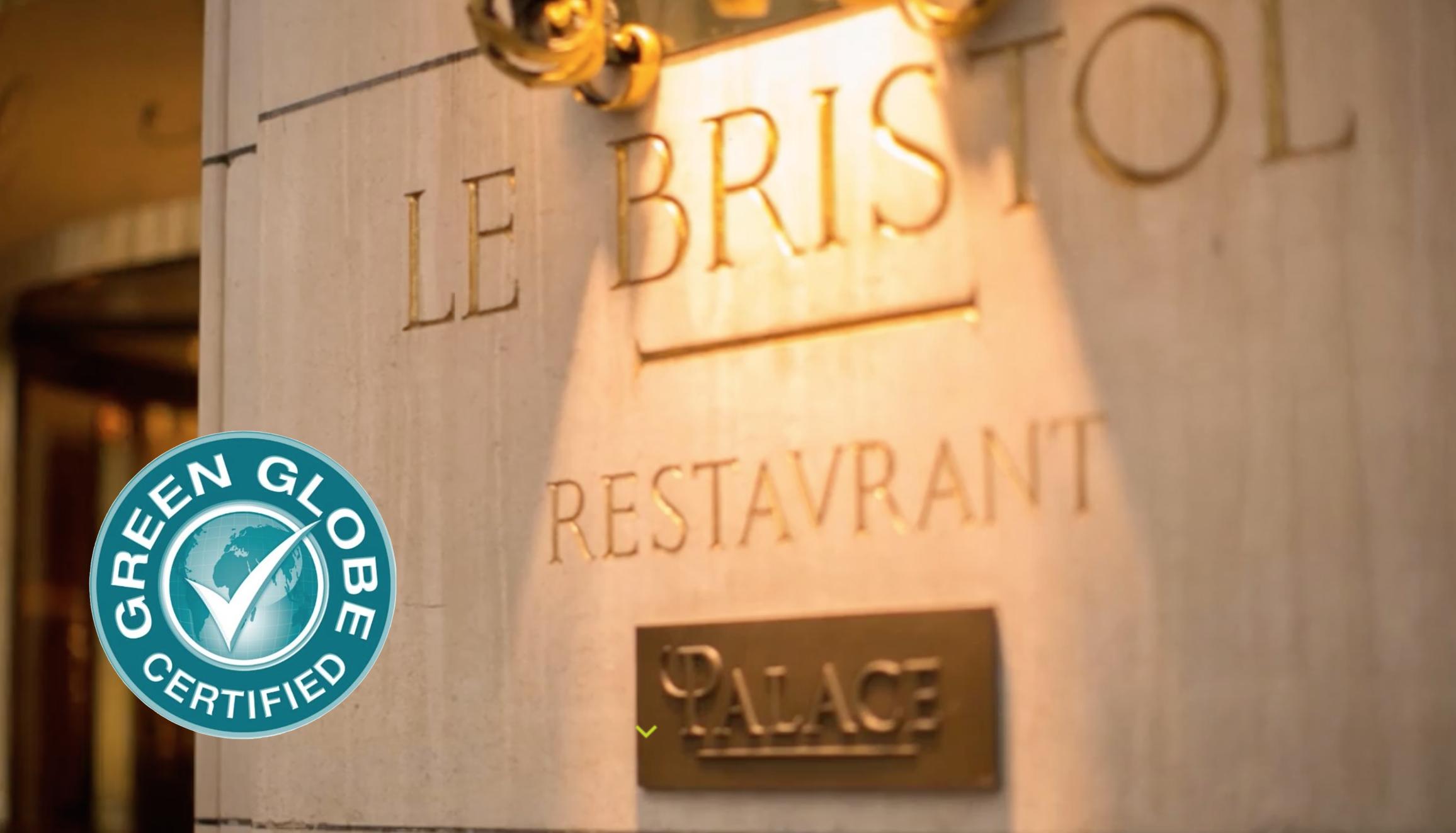 Hôtellerie de luxe : Le Bristol Paris obtient la certification Green Globe