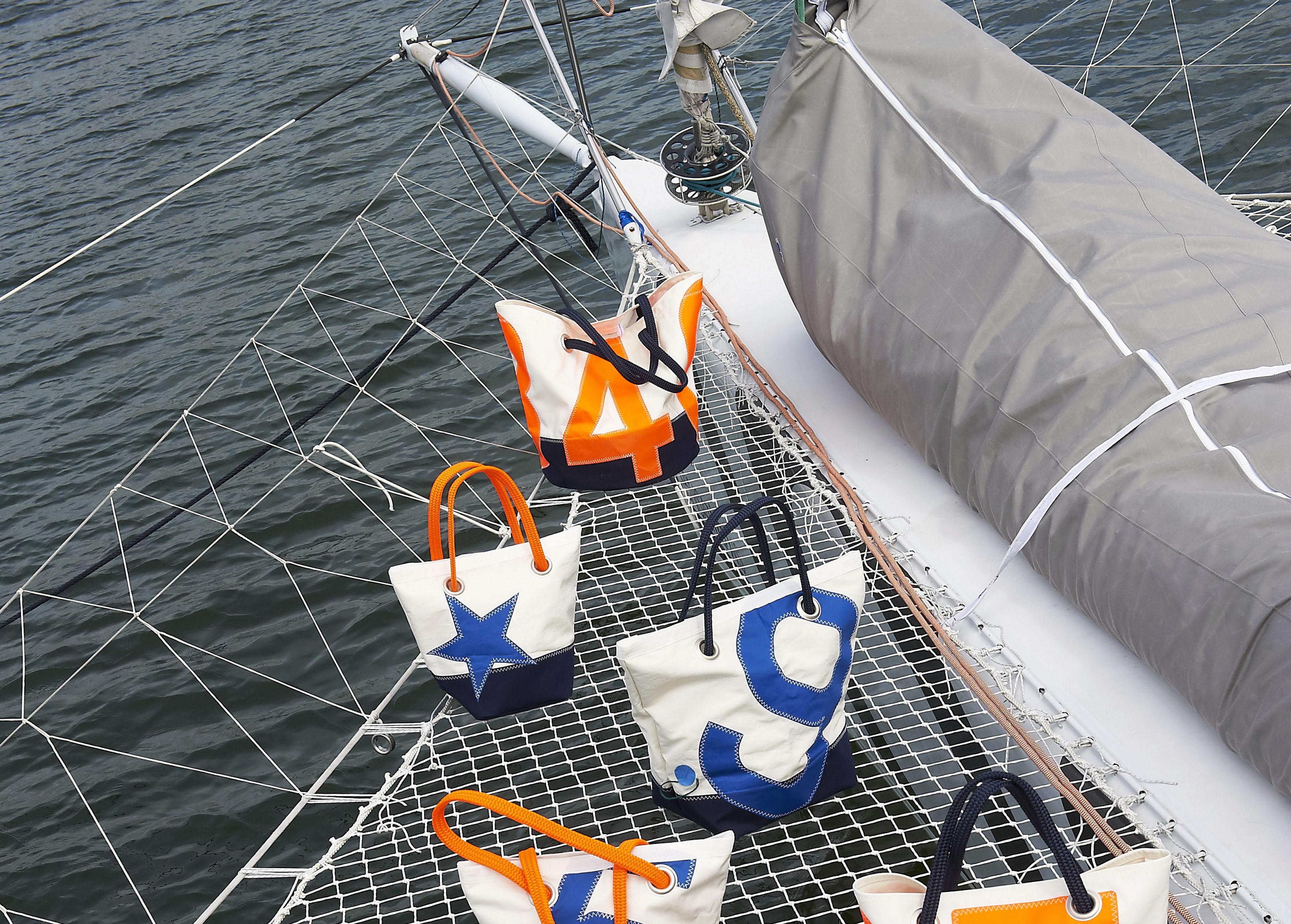 727sailbags : des sacs en voiles de bateau recyclées