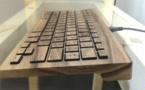 Essentiel, un nouveau clavier en bois chez Orée