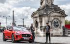 La Jaguar i-Pace dans les rues de Paris