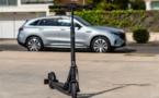 Un petit tour en trottinette électrique Mercedes-Benz ?