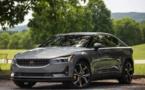 La Polestar2 100 % électrique concurrence la Tesla model 3