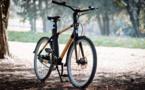 Möbius Bike conjuge cadre en bambou et moteur électrique