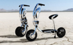"""INU, le scooter """"green & glam"""""""