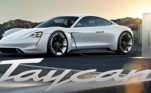 La Porsche Mission E rebaptisée Taycan