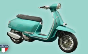 Le scooter Lambretta réscucité en version électrique