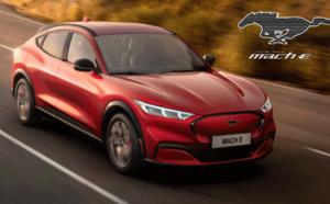 Face à Tesla, Ford dévoile la Mustang Mach-E électrique