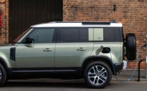 Land Rover roule en hybride