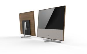Une touche de bois pour les téléviseurs Loewe